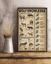 Wolf Type Knowledge 11x17 Poster lifestyle-poster-3