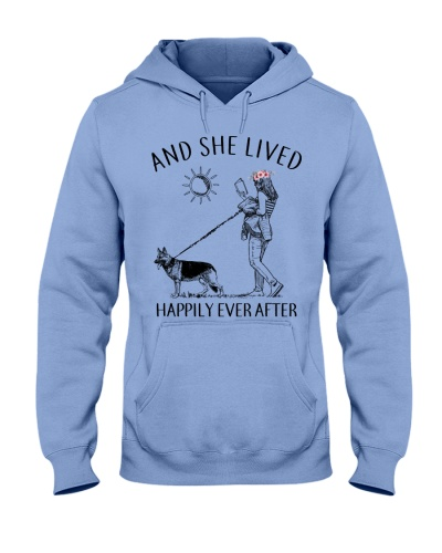 And She Lived Happily German Shepherds And Books