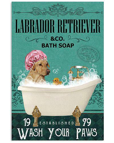 Green Bath Soap Company Labrador Retriever