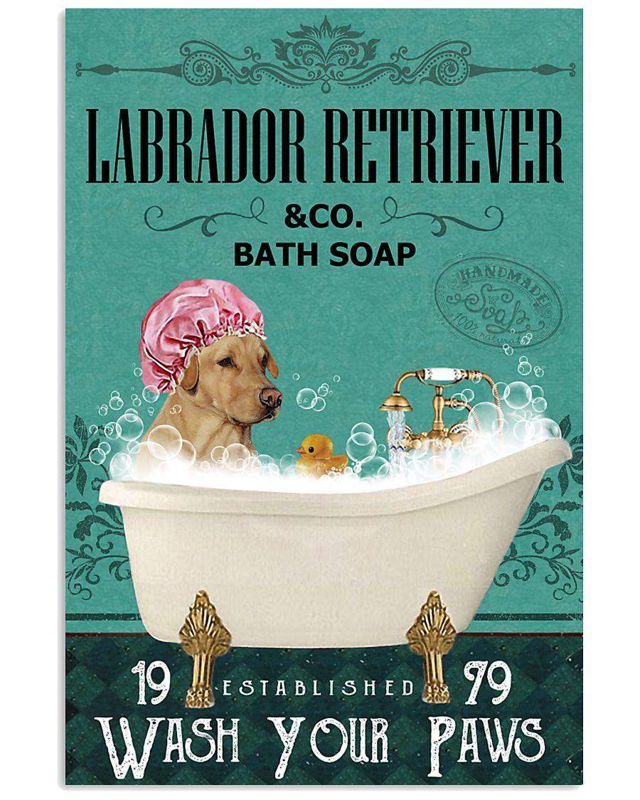 Green Bath Soap Company Labrador Retriever 11x17 Poster