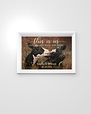 Personalized Holstein Cattle This is Us 24x16 Poster poster-landscape-24x16-lifestyle-02