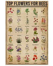 Top Flowers For Bees 11x17 Poster front