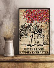 Dictionary Girl Happily Ever Rhodesian Ridgeback 11x17 Poster lifestyle-poster-3