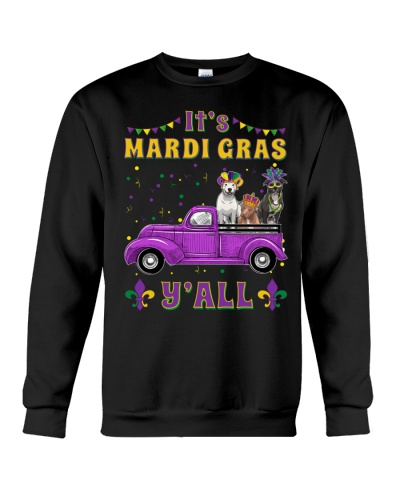 Pit Bull It's Mardi Gras Y'all