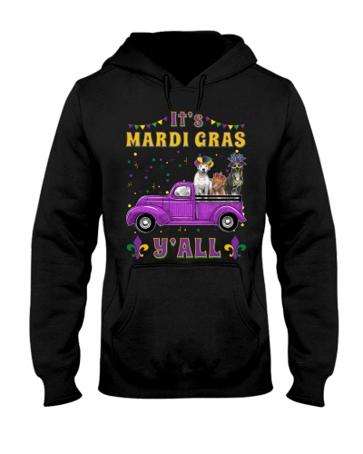 Pit Bull It's Mardi Gras Y'all