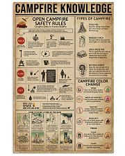 Campfire Knowledge 11x17 Poster front