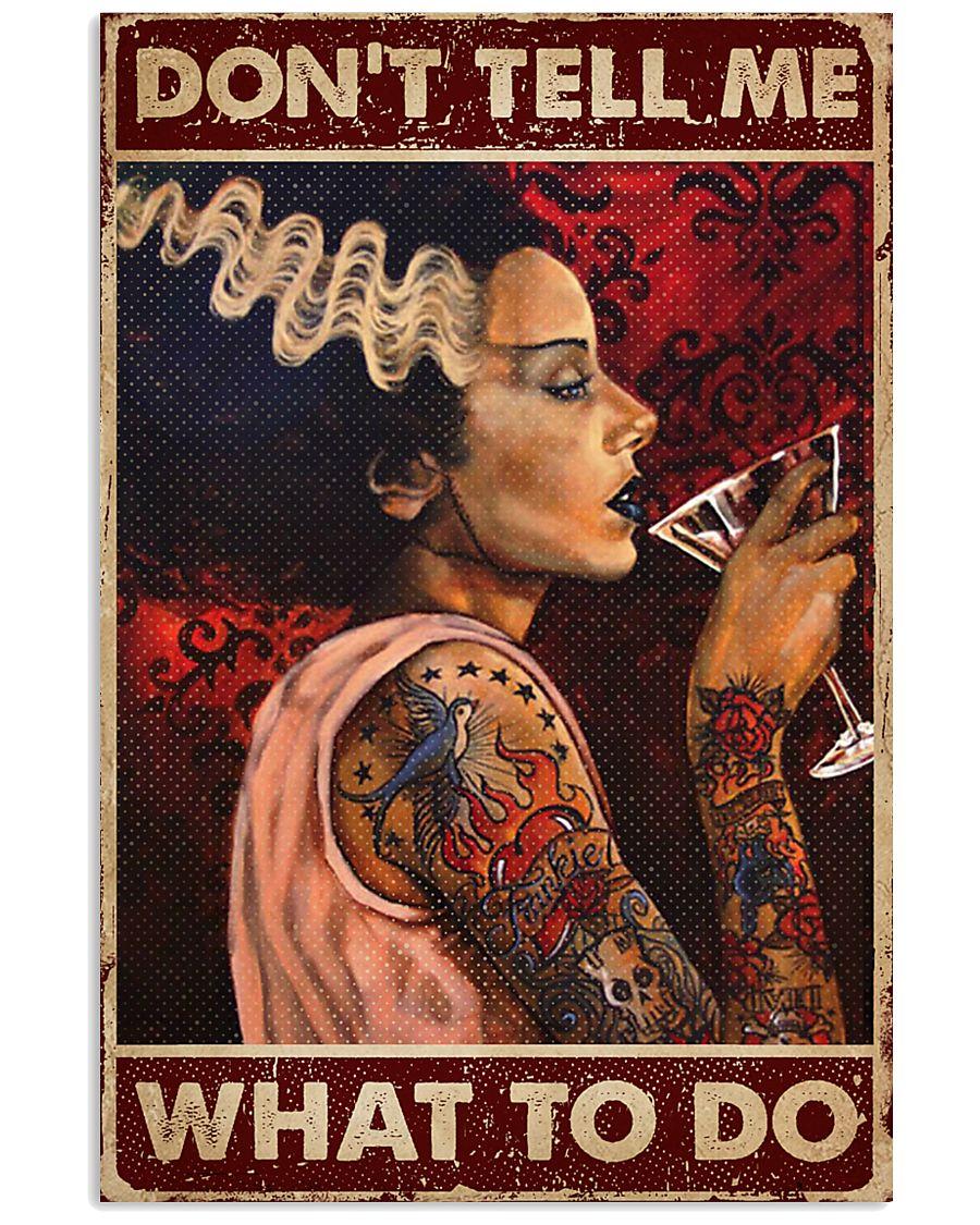 Tattoo Woman Don't Tell Me 16x24 Poster