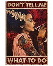 Tattoo Woman Don't Tell Me 16x24 Poster front