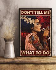 Tattoo Woman Don't Tell Me 16x24 Poster lifestyle-poster-3