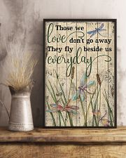 Those We Love Grass Dragonfly 11x17 Poster lifestyle-poster-3