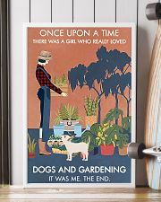 Vintage Once Upon A Time Dog Gardening 16x24 Poster lifestyle-poster-4