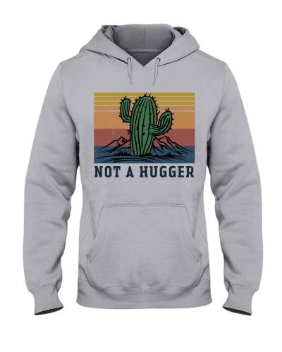 Retro Navy Not A Hugger Cactus Retro Navy