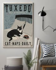 Tuxedo Cat Bed And Breakfast 16x24 Poster lifestyle-poster-1