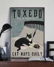 Tuxedo Cat Bed And Breakfast 16x24 Poster lifestyle-poster-2