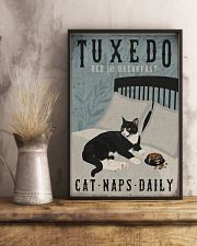 Tuxedo Cat Bed And Breakfast 16x24 Poster lifestyle-poster-3