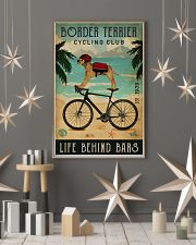 Cycling Club Border Terrier 11x17 Poster lifestyle-holiday-poster-1