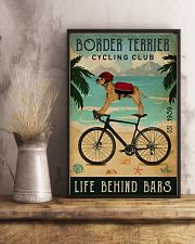 Cycling Club Border Terrier 11x17 Poster lifestyle-poster-3