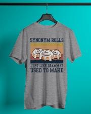 Synonym Rolls Funny Grammar Retro Navy - On Sale Classic T-Shirt lifestyle-mens-crewneck-front-3