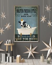Vintage Bath Soap Holstein Friesian Cattle 11x17 Poster lifestyle-holiday-poster-1