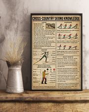 Cross-country Skiing Knowledge 11x17 Poster lifestyle-poster-3