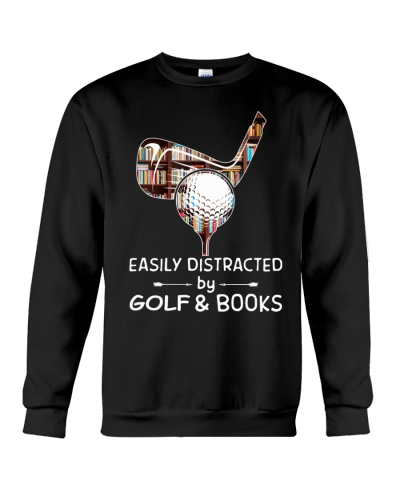 Easily Distracted By Golf And Books