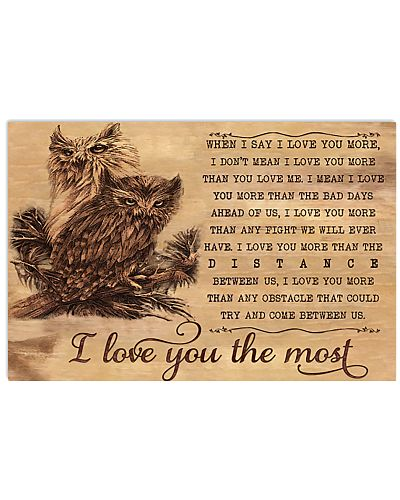 Owl I Love You The Most