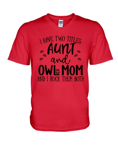 Aunt And Owl Mom I Rock Owls