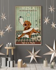 Green Restroom Paper Company Vizsla 11x17 Poster lifestyle-holiday-poster-1