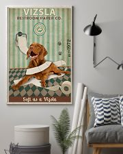 Green Restroom Paper Company Vizsla 11x17 Poster lifestyle-poster-1
