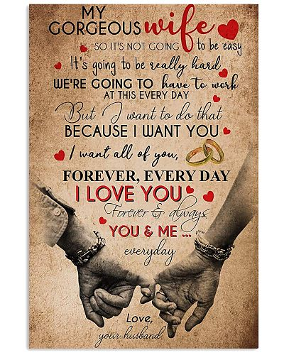 To My Gorgeous From Husband Loved