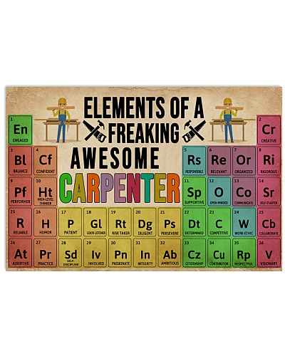 Elements Of A Freaking Awesome Carpenter