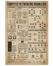 Computer Networking Knowledge 16x24 Poster front