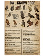 Knowledge Owls 11x17 Poster front