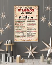 My Labrador My House My Rules 11x17 Poster lifestyle-holiday-poster-1