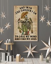 Dictionary Into The Garden Skeleton 16x24 Poster lifestyle-holiday-poster-1