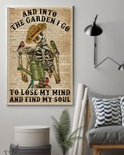 Dictionary Into The Garden Skeleton 16x24 Poster lifestyle-poster-1