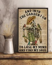 Dictionary Into The Garden Skeleton 16x24 Poster lifestyle-poster-3