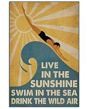 Swimming Live In The Sun  11x17 Poster front