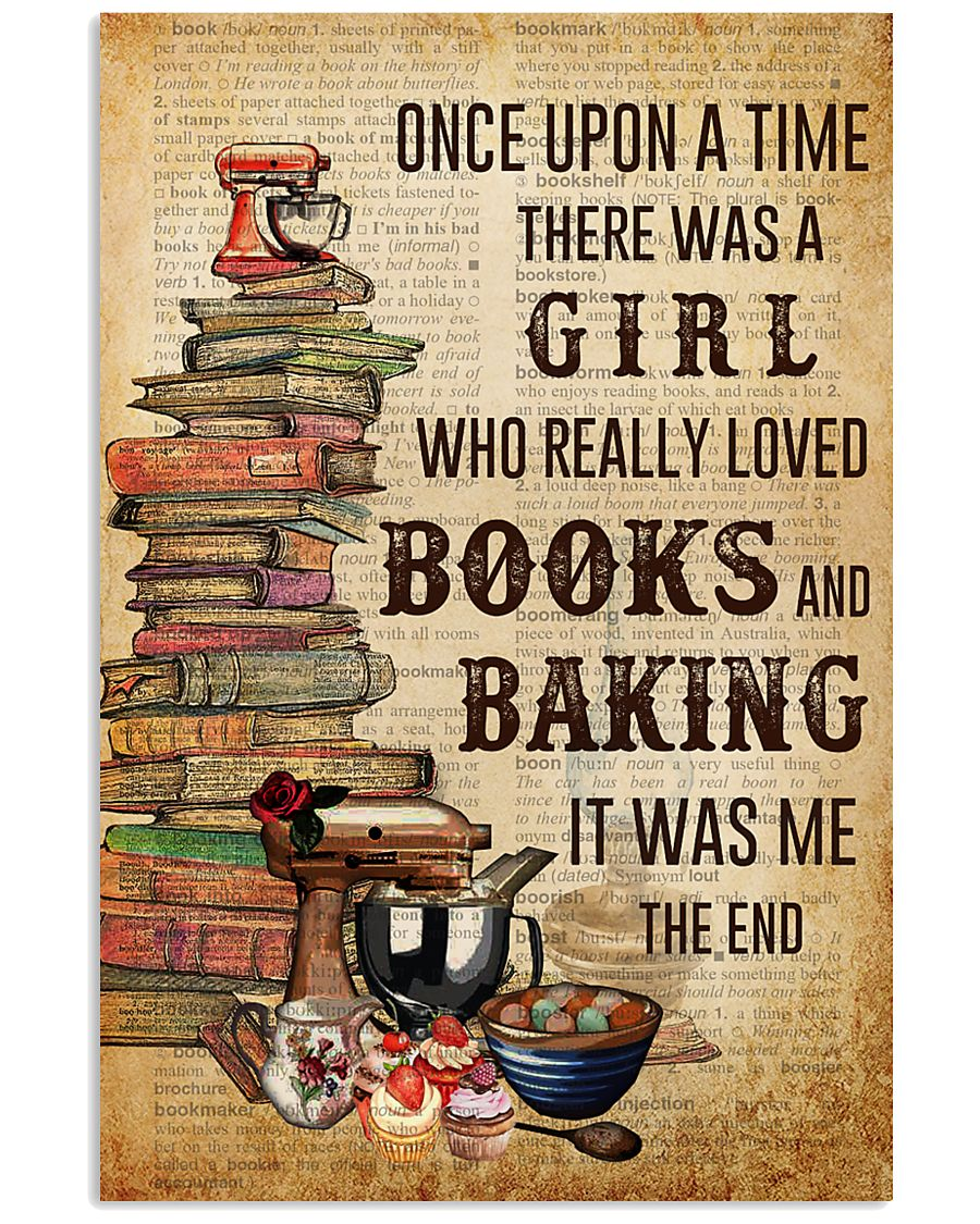 Once Upon A Time Reading Baking 11x17 Poster