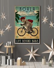 Cycling Club Koala 11x17 Poster lifestyle-holiday-poster-1