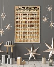 Types Of Wood Ranked By Janka Hardness Carpentry 16x24 Poster lifestyle-holiday-poster-1