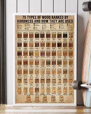 Types Of Wood Ranked By Janka Hardness Carpentry 16x24 Poster lifestyle-poster-4