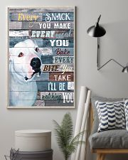 Pitbull White Every Snack You Make 11x17 Poster lifestyle-poster-1