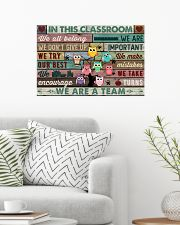 In This Classroom Owls Teacher 24x16 Poster poster-landscape-24x16-lifestyle-01