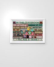 In This Classroom Owls Teacher 24x16 Poster poster-landscape-24x16-lifestyle-02