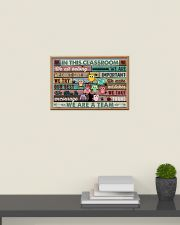 In This Classroom Owls Teacher 24x16 Poster poster-landscape-24x16-lifestyle-09