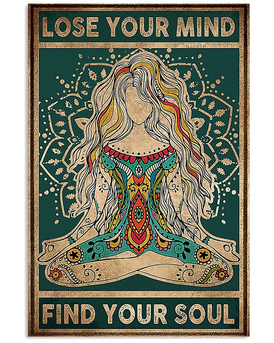 Find Your Soul Yoga 11x17 Poster