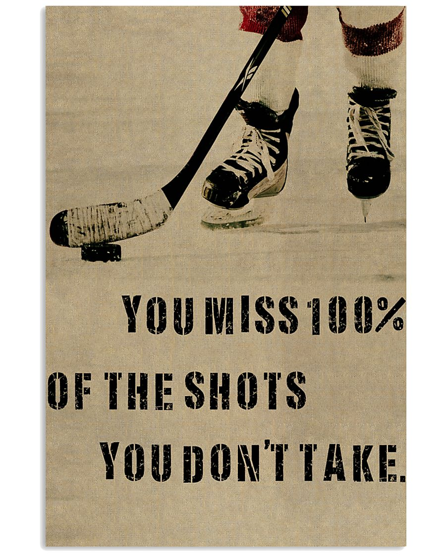 You Miss Hockey 11x17 Poster
