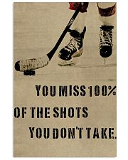 You Miss Hockey 11x17 Poster front
