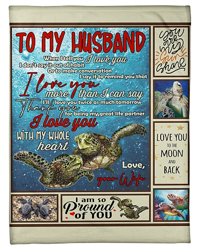 Wife To Husband Great Life Partner Turtle